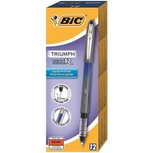 BIC Roller 12 buc/cutie 0.5 mm Triumph 537R albastru 885789CUT