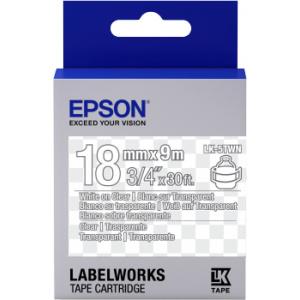 Epson LK-5TWN label-making tape