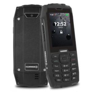 MyPhone Hammer 4 2G, Dual SIM (Negru)