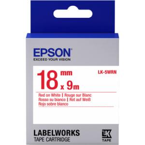 Epson LK-5WRN label-making tape