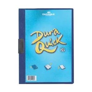 Durable Dosar cu clip Duraquick, 20 coli, albastru inchis