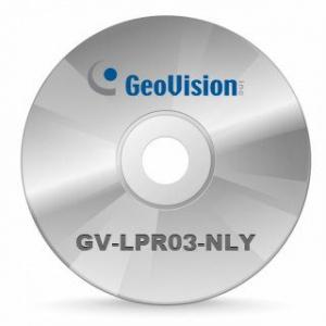 GeoVision Licenta LPR 3 canale pentru sistemele GV-LPR03