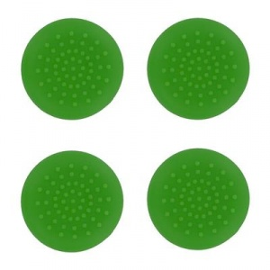 Assecure Set 4 Thumb Grips Green Ps4