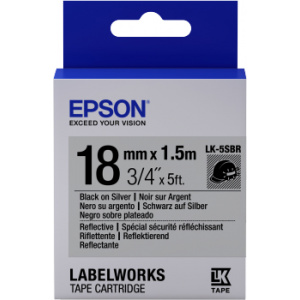 Epson LK-5SBR label-making tape