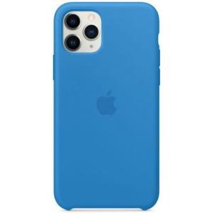 Apple Protectie Spate Silicone Case my1f2zm/a pentru iPhone 11 Pro (Albastru)
