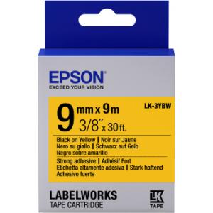 Epson LK-3YBW label-making tape