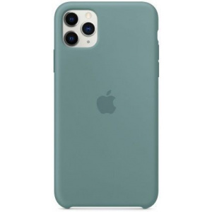 Apple Protectie Spate Silicone Case my1g2zm/a pentru iPhone 11 Pro Max (Gri)