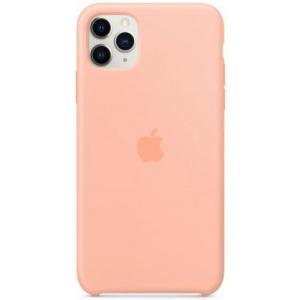 Apple Protectie Spate Silicone Case my1h2zm/a pentru iPhone 11 Pro Max (Roz)