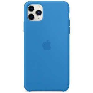 Apple Protectie Spate Silicone Case my1j2zm/a pentru iPhone 11 Pro Max (Albastru)