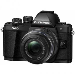 Olympus OM-D E-M10 Mark II Black + M.ZUIKO DIGITAL 14‑42mm 1:3.5‑5.6 IIR Black (V207051BE000)