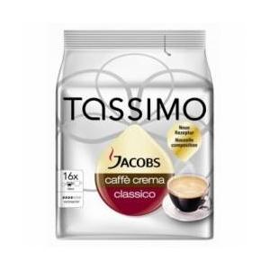 Jacobs Capsule Tassimo Caffe Crema Classico 16 Capsule 112 g