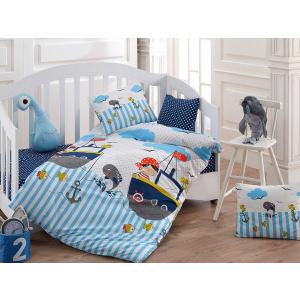 Bahar Tekstil Lenjerie de patut bumbac 100%, Bahar Home, Mico V1