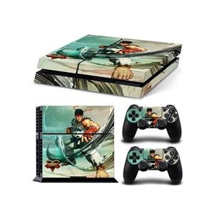 Venom Official Street Fighter V Ps4 Console And Controller Sticker Skins Mitts