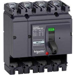 Schneider Electric Intr Aut Nsx 160S Dc 4P 100Ka Fara Decl LV438119 -