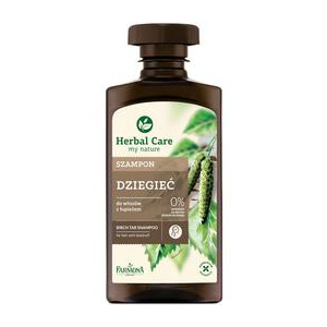 Farmona Herbal Care Birch Tar Shampoo for Hair with Dandruff, 330ml