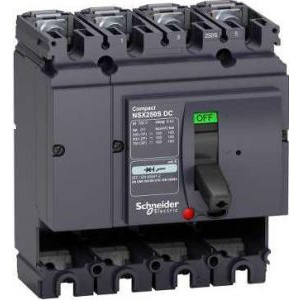 Schneider Electric Intr Aut Nsx 250S Dc 4P 100Ka Fara Decl LV438219 -