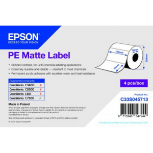 Epson Rola etichete polietilena mata PE 102x76mm fi 76mm 1570buc