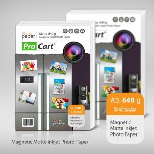 Procart Hartie FOTO Magnetica Mata 640g A3