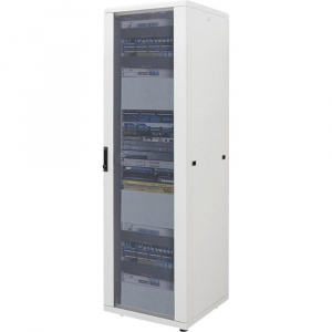 Intellinet Dulap rack network 19   42U 205.7X60X60cm gri dezasamblat