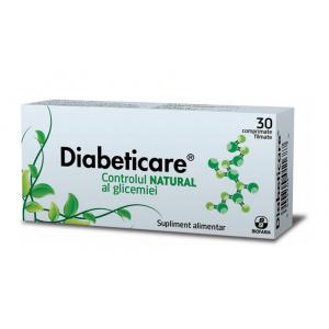 Biofarm Diabeticare pentru controlul glicemiei, 30 comprimate