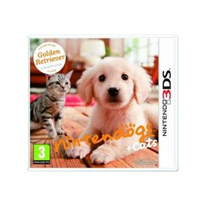 Nintendo Nintendogs And Cats Golden Retriever With New Friends 3Ds