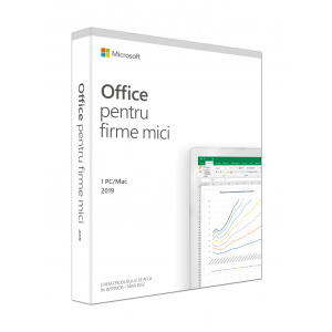 Microsoft Office Home and Business 2019 Engleza, 1 PC, Medialess Retail