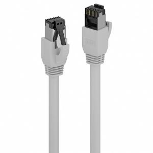 Lindy Cablu de retea RJ45 cat. 8.1 LSOH 1m Gri L47432