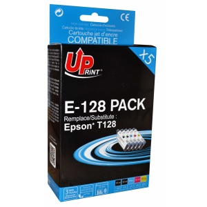 UPrint Set EJ128UPRP5, 2BK+C+M+Y, 2x10+3x10 ml
