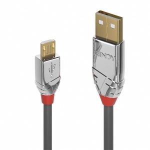 Lindy Cablu USB 2.0 la micro USB-B Cromo Line T-T 1m L36651