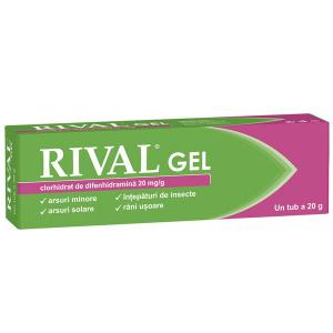 Fiterman Rival gel 20 mg/g, 20 g