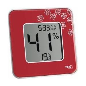 TFA-Dostmann Termometru higrometru digital Style 30.5021.05 Rosu