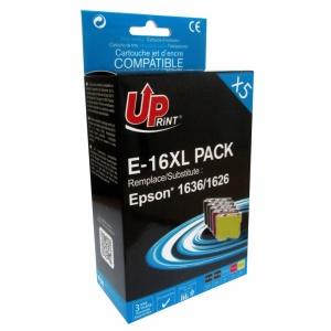 UPrint Set EJ16XLUPP5, 2BK+CMY, 2x14+3x9 ml
