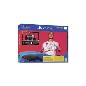 PlayStation Sony 4 Slim 1Tb Jet Black + Fifa 20