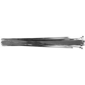 YATO Coliere metalice reglabile 8.0 x 600mm 50buc YT-70588
