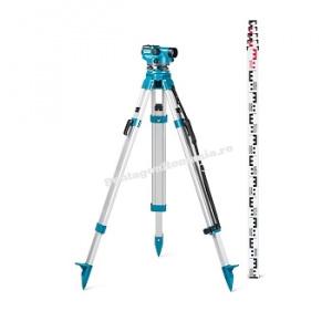 geo-FENNEL Set nivela Optica ELN 24 trepied si mira de 5 m