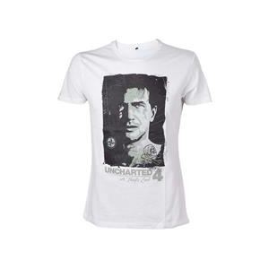 Uncharted Tricou 4 Drake S Compass T-Shirt Size Xl