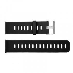Very Dream Curea silicon compatibila cu Huawei Watch GT 2 46mm, Negru/Rosu