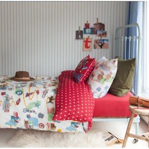BeddingHouse Lenjerie de pat copii - Route 77