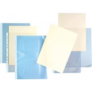 Kangaro Folie  protectie L pentru documente A4, 140 microni - cristal