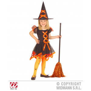 Widmann Costum Halloween Mica Vrajitoare cu fundita