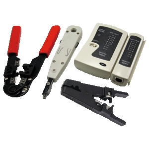 LogiLink Networking Tool Set with Bag  WZ0012