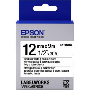 Epson LK-4WBW label-making tape