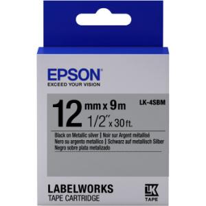 Epson LK-4SBM label-making tape
