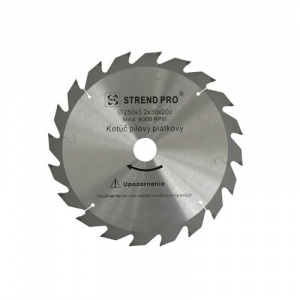 Strend Pro Disc circular pentru lemn NWG, 160 x 2.5 x 20 mm, z36