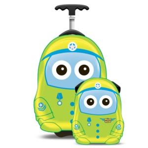 Cuties and Pals Set Valiza tip trolley si ghiozdan Uniform Cutie Pilot