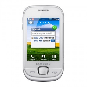 Samsung S3770 Champ White