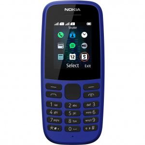 Nokia 105 (2019), Dual SIM, Albastru