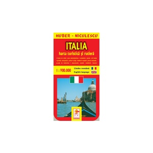Huber Niculescu Italia Harta Turistica Si Rutiera Detalii Produs