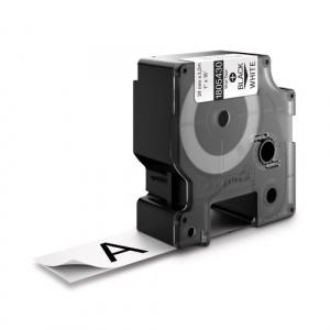 DYMO Banda vinil ID1 DY1805432 24mm  Alb/Negru - 1805432