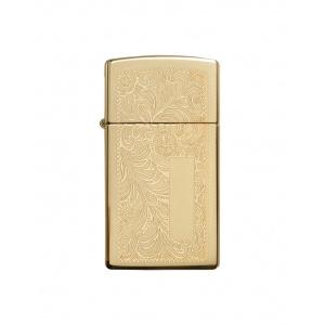 Zippo Brichetă 1652B Slim Brass Venetian